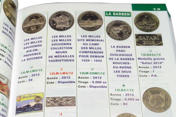le livre officiel des médailles souvenirs intérieur france