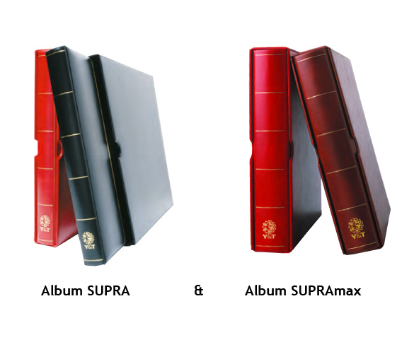 Album Supra et Supramax de chez Yvert et Tellier pour feuilles SC