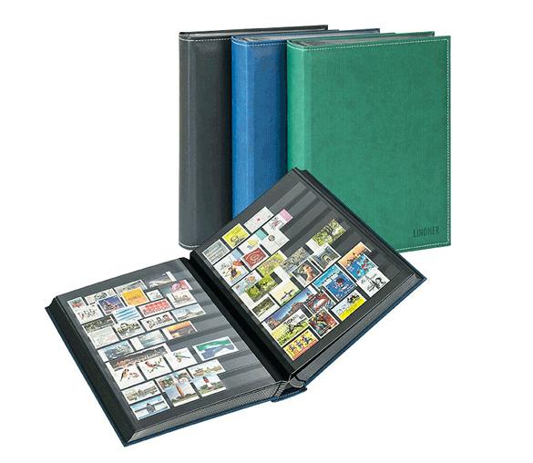 album pour timbres à feuilles fixes avec intercalaires rodhoïd