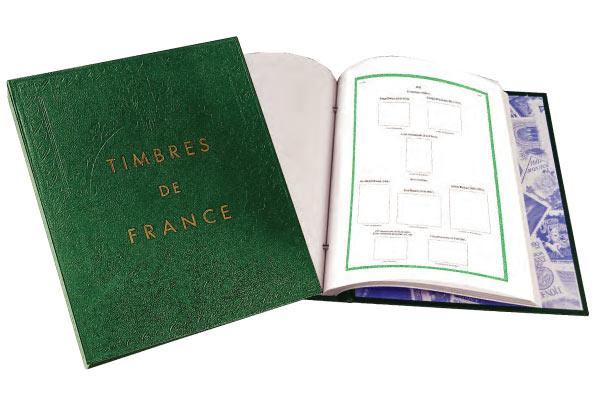 Album Futura FO de chez Yvert et Tellier et intérieurs pages
