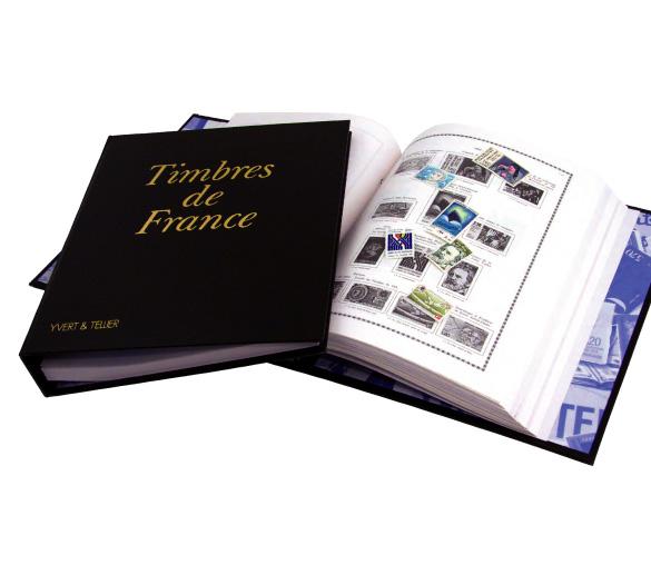 Album Futura FS de chez Yvert et Tellier et intérieurs pages